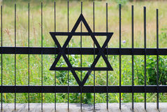 Old Jewish cemetery. In Poland Stock Images