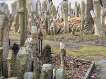 Old Jewish Cemetery From 1787, Prague Stock Photography