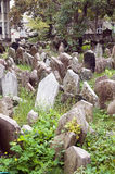 Old Jewish Cemetery Jewish Quarter Prague Stock Images