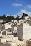 Old Jewish cemetery on the Mount of Olives Royalty Free Stock Photos
