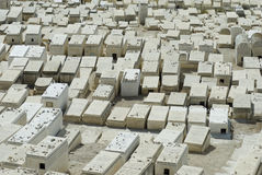 Old jewish cemetery, Mount of olives, Jerusalem Stock Image
