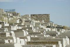 Old jewish cemetery, Mount of olives, Jerusalem Royalty Free Stock Image