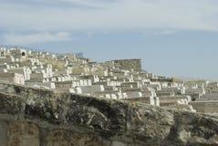 Old jewish cemetery, Mount of olives, Jerusalem Stock Images