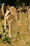 Old Jewish Cemetery. One of the most important Jewish historical monuments in Prague, Czech Republic Stock Photography