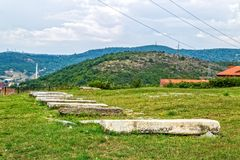 Old Jewish cemetery in Pristina Royalty Free Stock Image