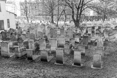 Old Jewish Cemetery, Remuh Synagogue, Krakow Stock Photography
