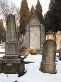 Old jewish gravestones Royalty Free Stock Images