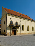 The old Jewish part of the city Boskovice. Royalty Free Stock Photography