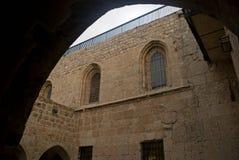 Old Jewish school, Jerusalem, Israel Stock Images
