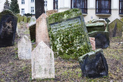 Old Jewish Tombstone Stock Image