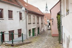 Old  jewish town Trebic. Royalty Free Stock Photography