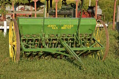 Old John Deere seed grain drill Stock Photography