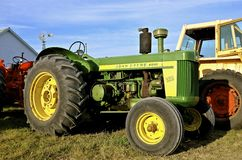 Old 820 John Deere tractor Royalty Free Stock Photos