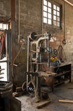 Old joiner's shop Stock Images