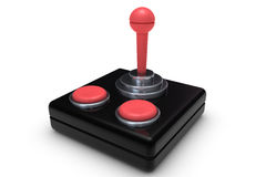 Old joystick Royalty Free Stock Images