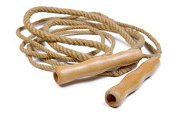 Old jump rope stock images