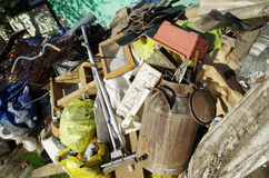 Old junk for recycling Royalty Free Stock Photography
