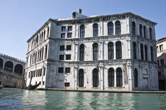 Old Justice Building Venice, Italy Stock Image