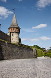 Old Kamenets-Podolsky castle Stock Photography