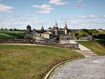 Old Kamenets-Podolsky castle Stock Images
