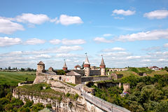 Old Kamenets-Podolsky castle Royalty Free Stock Image