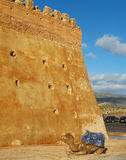 Old Kasbah in Agadir. A typical sightseen in Agadir: the old kasbah Royalty Free Stock Photo