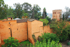 Old Kasbah of Chefchaouen Royalty Free Stock Image