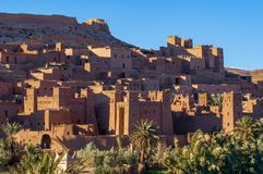 Old Village Aid-Ben-Haddou in Morocco stock photography
