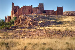 Old kasbah in morocco Stock Image