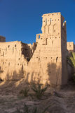 Old Kasbah in Morocco. A kasbah or in older English casbah; a qasbah or qassabah in India, is a type of medina, Islamic city, or fortress (citadel Stock Image