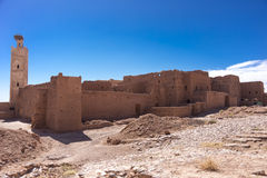Old Kasbah in Morocco Stock Images