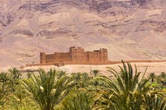 Old Kasbah in Morocco Stock Photography