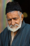 Old Kashmiri Muslim Man Shah E Hamdan Mosque Royalty Free Stock Photography