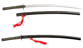 Old Katana Royalty Free Stock Photo