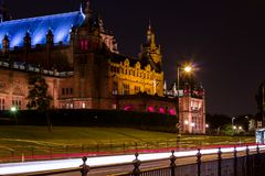 Kelvingrove Art Gallery and Museum in Glasgow royalty free stock photography