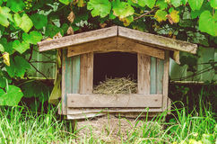 Old kennel. In the village Royalty Free Stock Photography