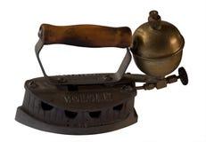 Old kerosene iron Stock Photos