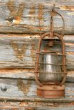 The old kerosene lamp Stock Image