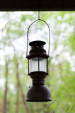 The old kerosene lamp hanging Stock Photos
