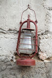 Old kerosene lamp Stock Images