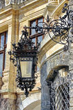 Old Kerosene Lantern Lamp Stock Photo