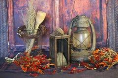 Old Kerosene Lantern Lamps Royalty Free Stock Photos