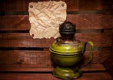 Old kerosene stove Royalty Free Stock Image