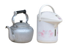 Free Old Kettle And New Kettle Royalty Free Stock Photos - 16706038