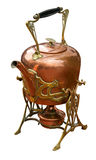Old kettle with burner Royalty Free Stock Photos