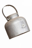 Old kettle hanging Royalty Free Stock Photo