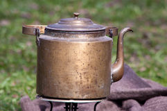 Old kettle Royalty Free Stock Photography