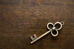 Old Key Stock Photo