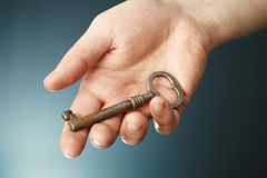 Old key Stock Photo