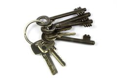 Old key bundle Stock Image
